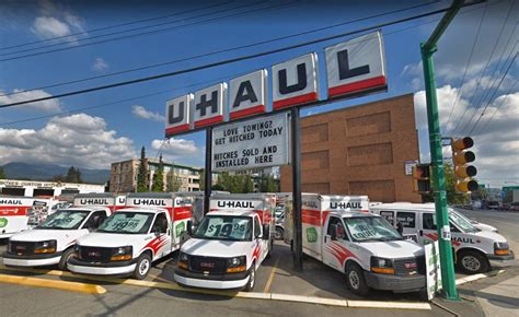 Moving Truck Rental in North Vancouver BC at U Haul