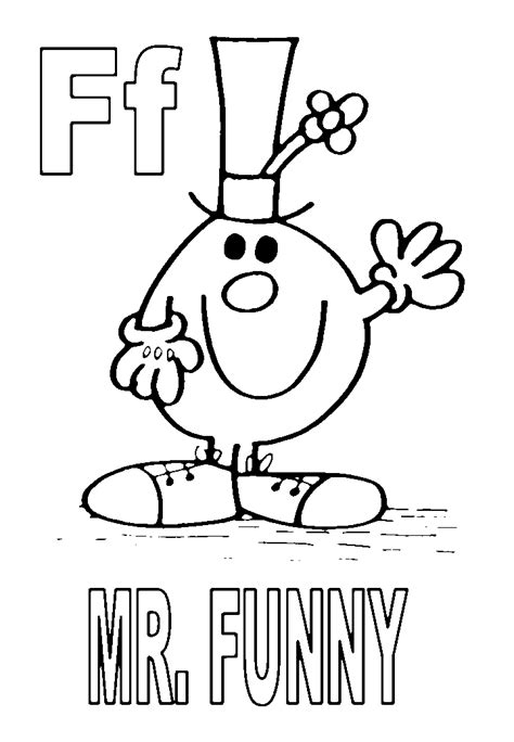 Mr Men coloring pages on Coloring Book info