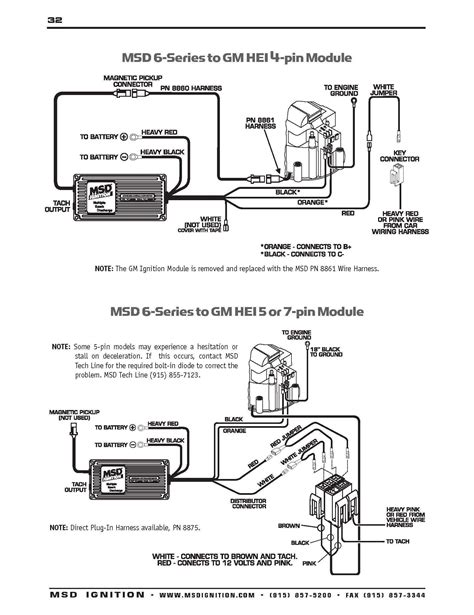 msd ready to run distributor wiring diagram msd free download on msd 6al wiring diagram