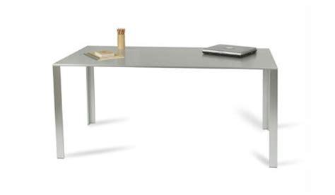 Muji Aluminum Table Desk Work Better Living Through