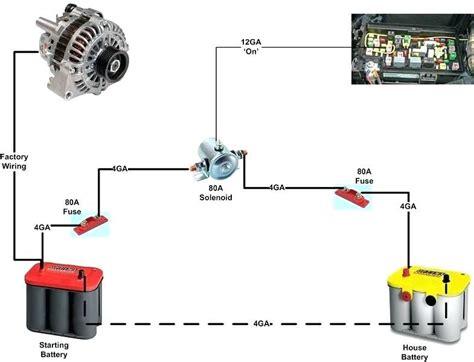 delcotron alternator internal wiring diagram images multi battery isolator application installation instructions