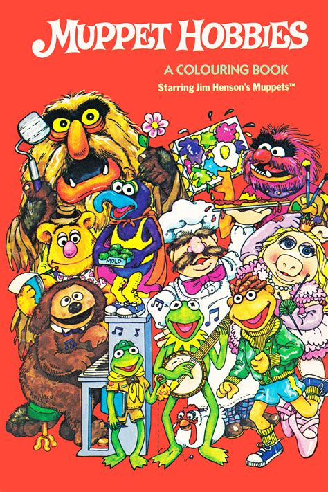 Muppet coloring books FANDOM powered by Wikia