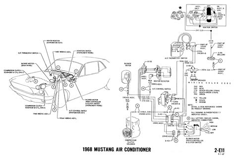 mustang wiring diagram images ford turn signal wiring mustang wiring diagram 1968