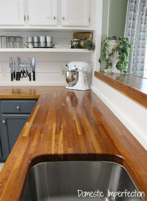 My Butcher Block Countertops Two Years Later Domestic