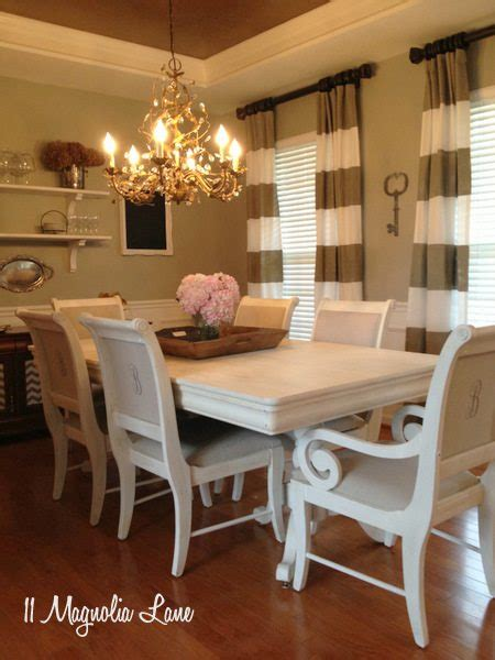 My Dining Room Table Chairs Painted 11 Magnolia Lane