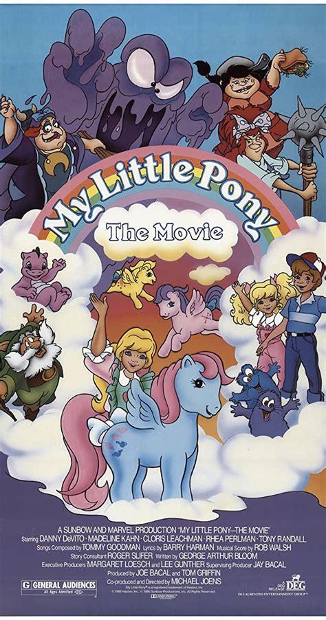 My Little Pony The Movie 1986 IMDb