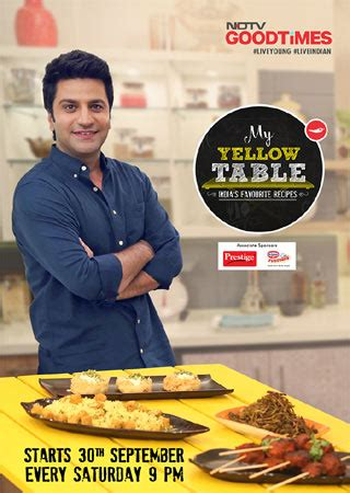 My Yellow Table NDTV Good Times