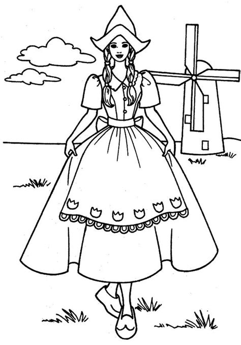 Mystic Mills free coloring pages for all ages Colouring