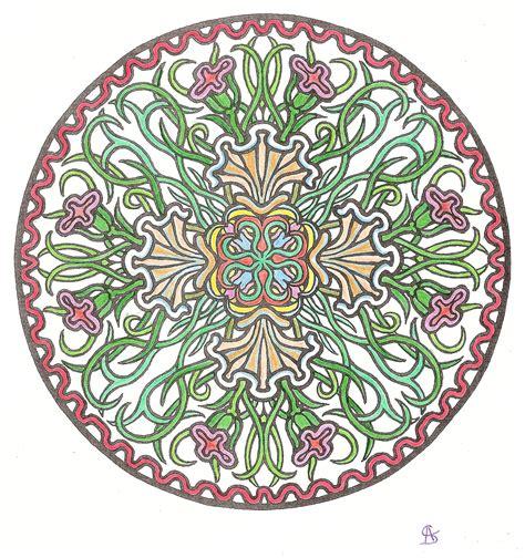 Mystical Mandala Coloring Book Dover Design Coloring