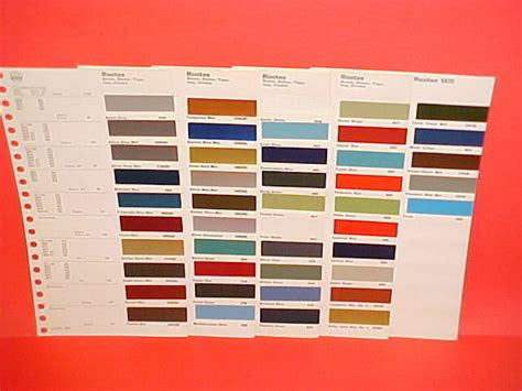 N14 Paint Color Codes Tigers East Alpines East