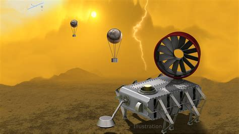 NASA s Latest Venus Probe Concept Looks Like a Tim Burton