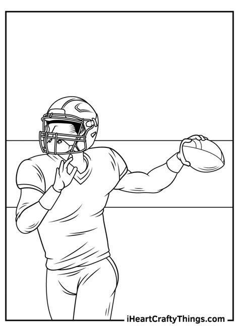 NFL Coloring Pages Color Me Good