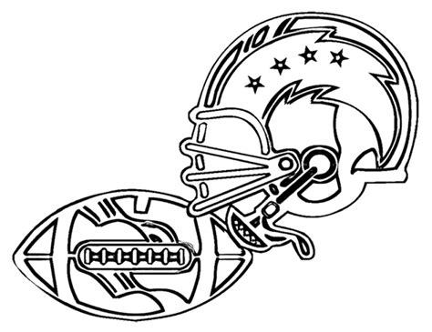 NFL Coloring Pages and Football Coloring Pages Color Me Good