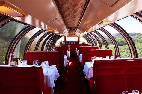 Napa Valley Dining Journeys Dining in Napa Wine Train