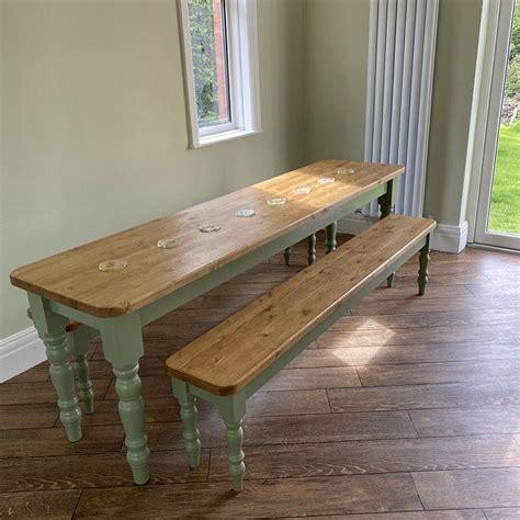 Narrow dining table Etsy