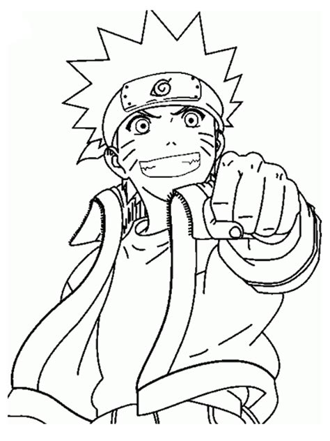 Naruto coloring pages on Coloring Book info