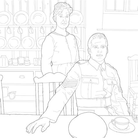 National Coloring Book Day Free Download Downton Abbey
