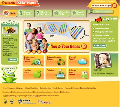 National Institute of Environmental Health Kids Homepage