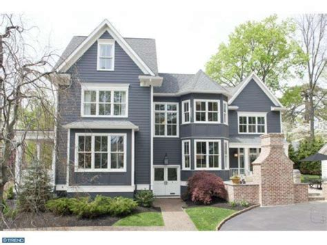 Navy Blue Exterior Before After Maria Killam The