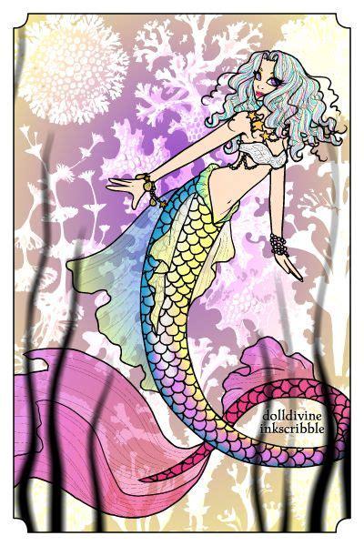 Neptune s Daughter Mermaid Dress Up Doll Doll Divine