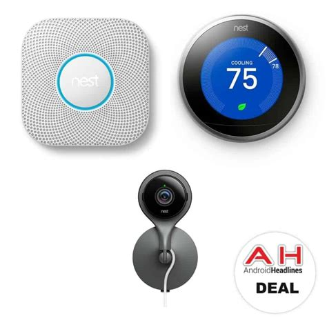 Nest Thermostat Nest Protect and Nest Cam support Nest
