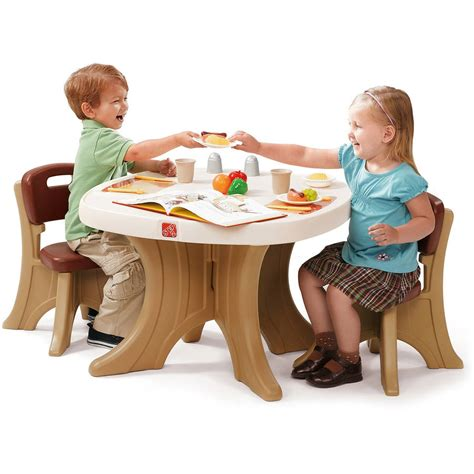 New Traditions Table Chairs Set Step2