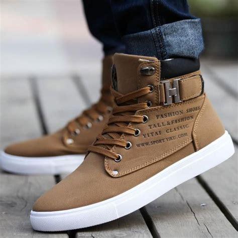New fashion Mens Boots and Womens Pumps Mens Hi Top Mens