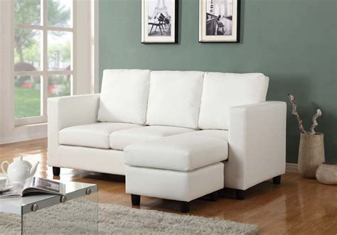 Newport Cream Small Sectional Sofa with Right Facing