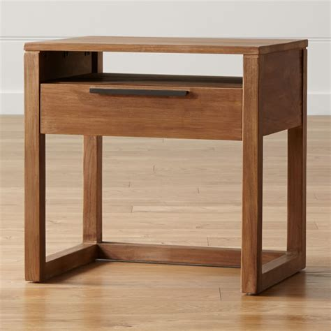 Nightstands and Bedside Tables Crate and Barrel
