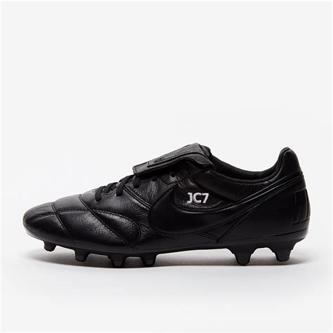 Nike Tiempo Premier FG Mens Boots Firm Ground Black