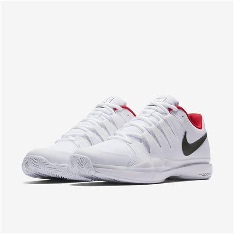 Nike Zoom Vapor 9 5 Tour QS White Red Men s Shoe