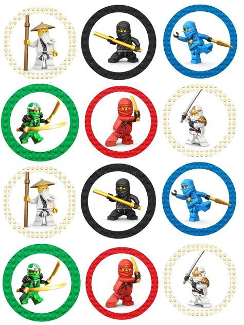 Ninjago Free Birthday Party Printables Delicate Construction