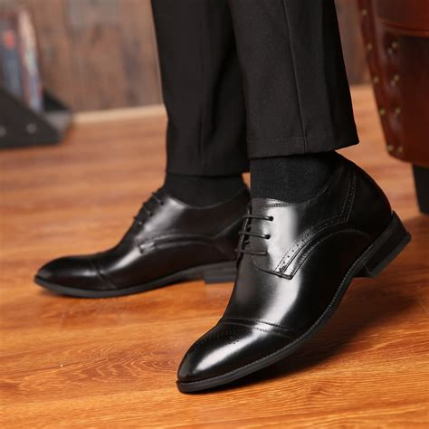 No 1 Online Men s Height Increasing Shoes Elevator Shoes