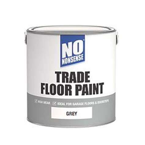 No Nonsense Trade Floor Paint Grey 2 5Ltr Floor Paints