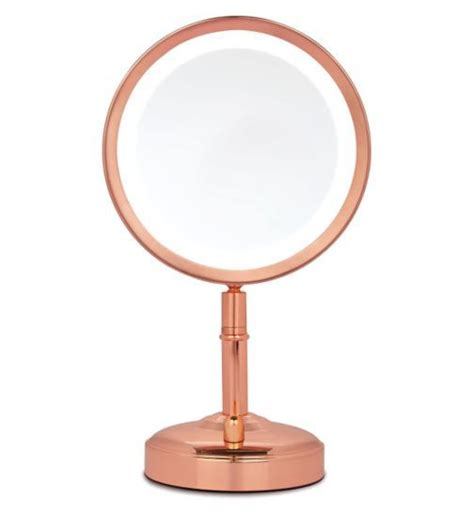 No7 Rose Gold Illuminated Mirror Exclusive to Boots Boots