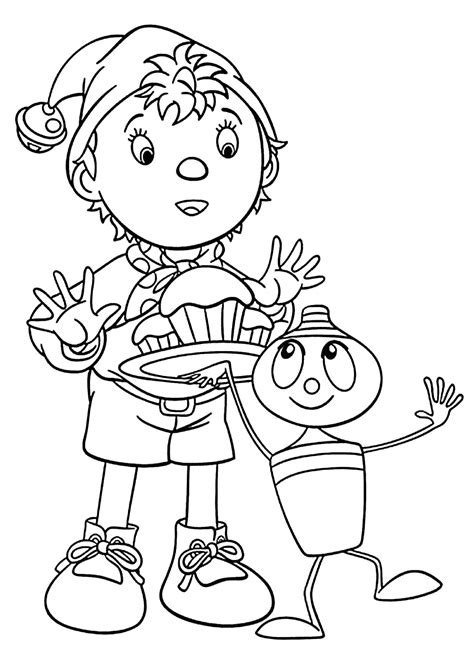 Noddy coloring pages Free Coloring Pages