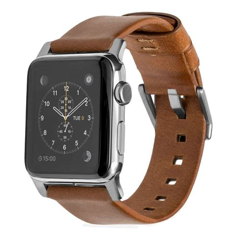 Nomad Leather Watch Strap for Apple Watch 42mm Brown