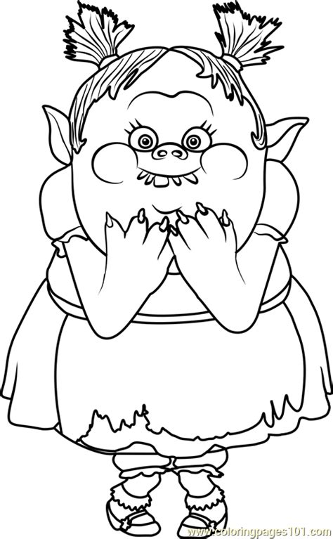 Norwegian Troll coloring page Free Printable Coloring Pages