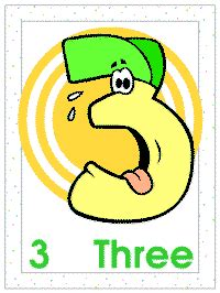 Number Buddies Posters Coloring Pages