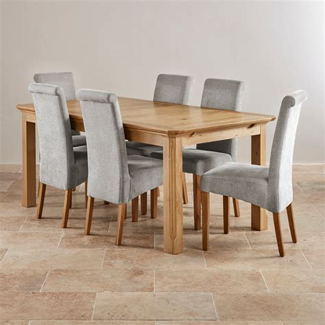 Extending Dining Table And 6 Chairs Oak Tables Sets Small Oak