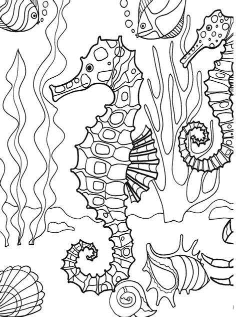 Ocean Coloring Pages GetColoringPages