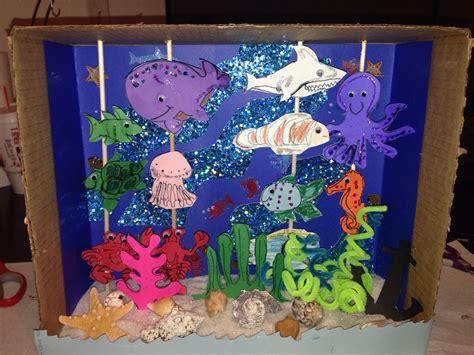Ocean Scene Art Project Simply Daycare