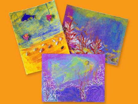 Ocean Scenes and Coral Reefs crayola
