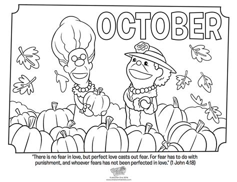 October Worksheets and Coloring Pages ThoughtCo
