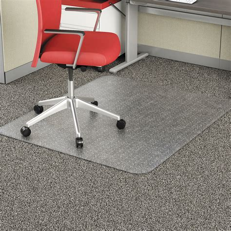 Office Impressions Chair Mat for Carpet 46 x 60 Clear