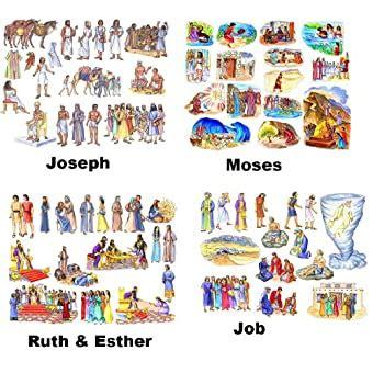 Old Testament Bible Characters Daniel Job Ruth and