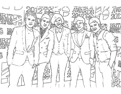 One Direction Free Online Games Coloring pages Videos