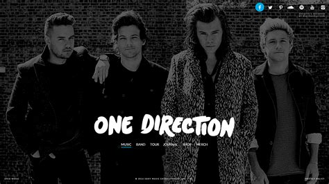 One Direction The official website