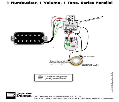 guitar wiring diagram 1 humbucker volume images guitar pickups one humbucker volume wiring diagram