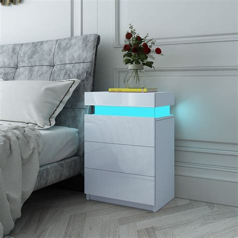Online Get Cheap White Bedside Table Aliexpress